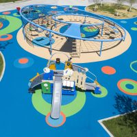DuraPlay Pour in Place Rubber Playground Safety Surfacing Design
