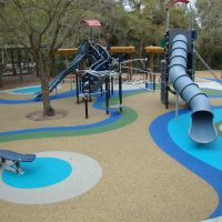 DuraPlay Pour in Place Rubber Surfacing