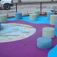DuraPlay Pour in Place Rubber Playground Safety Surfacing